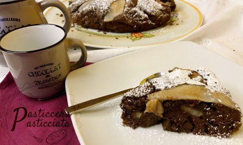 torta tenerina pere e cioccolato