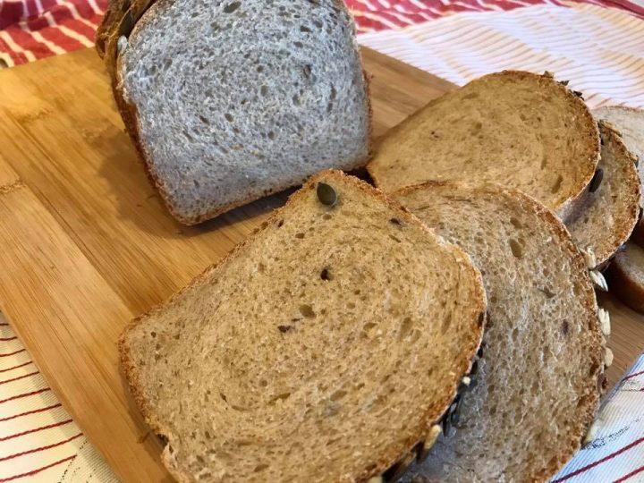 Pan bauletto vegano semi integrale