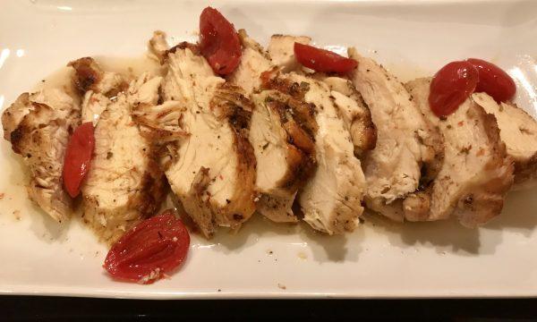 Petto di pollo al forno al cartoccio
