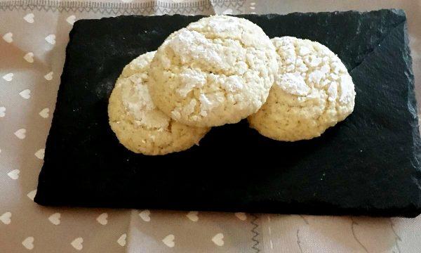 Biscotti crepati al limone e pompelmo