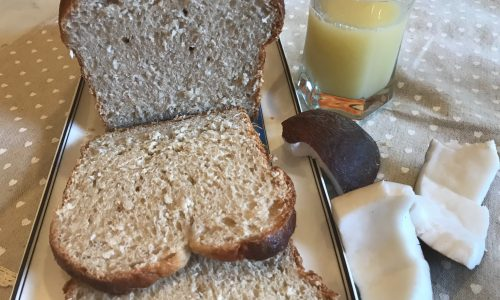 Pan brioche pina colada cocco e ananas