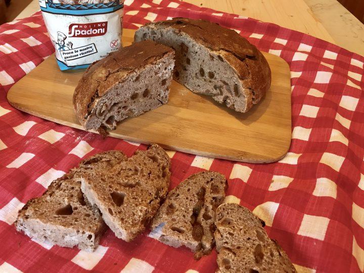 Pane come farina di castagne