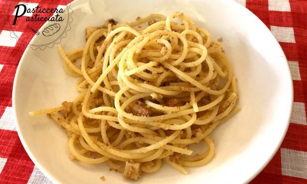 Pasta con la mollica(pasta cu a muddica atturrata)
