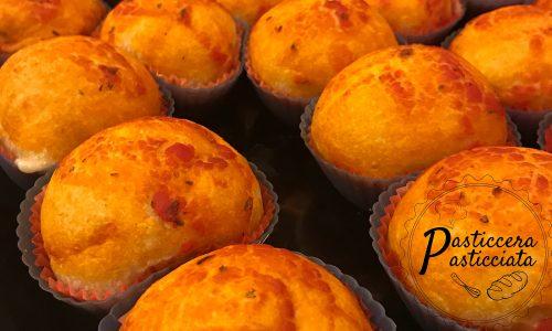 Pan pizzette con esubero farcite di prosciutto