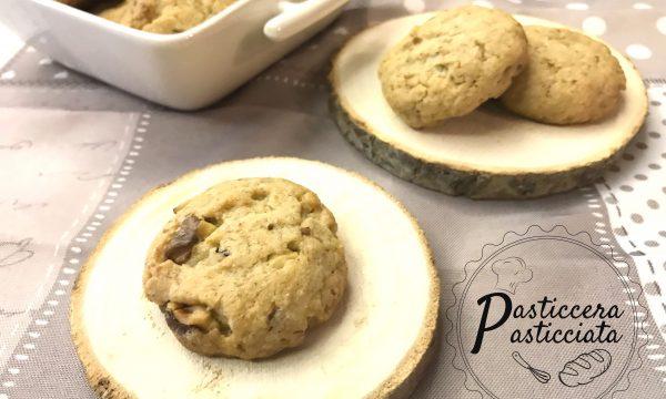 Biscotti integrali con le noci