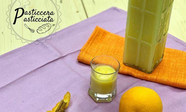 Crema di liquore di arance fatta in casa