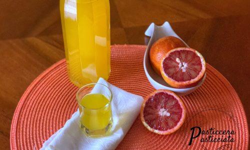 Arancello il liquore di arance fatto in casa