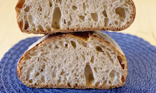 Pane di farro con lievito madre
