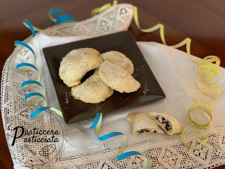 Ravioli con ricotta e cioccolato