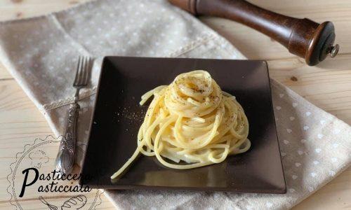 Pasta cacio e pepe ricetta originale