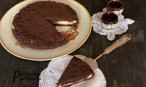 Sbriciolata al cacao e cocco