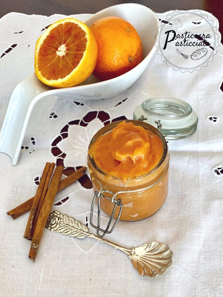 Crema all'arancia per intolleranti