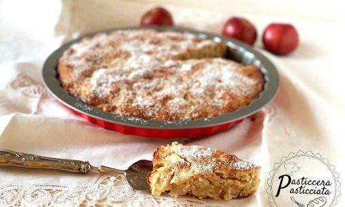 Torta di mele con farina di segale