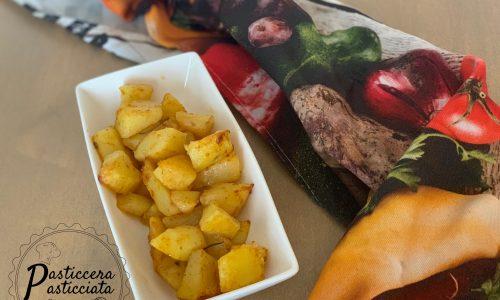 Patate al forno alla paprika in 20 minuti