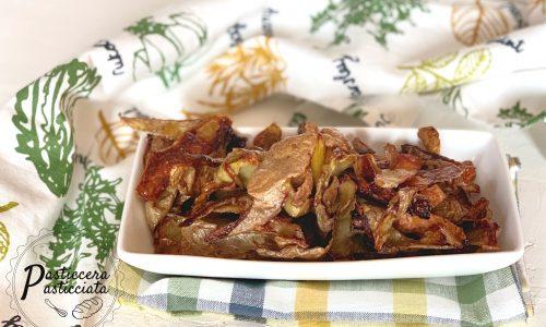 Bucce di patate al forno ricetta del riciclo