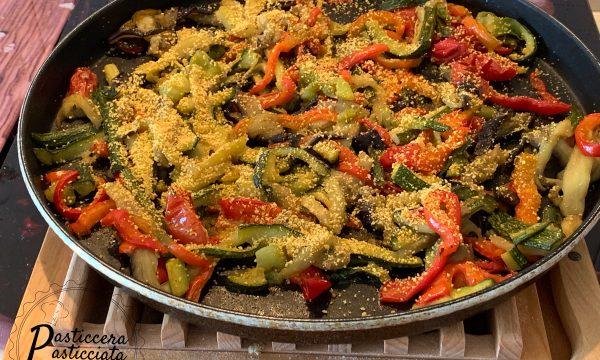Mix di verdure al microonde