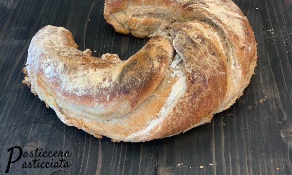 Pane ferro di cavallo della fortuna