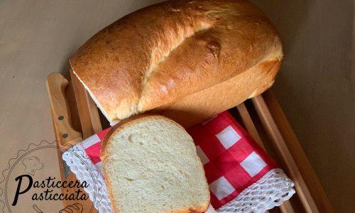 Pan carrè con lievito madre supermorbido