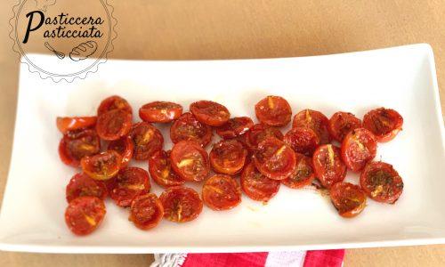Pomodorini confit semplicissimi