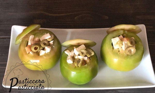 Pomodori ripieni di feta ed olive