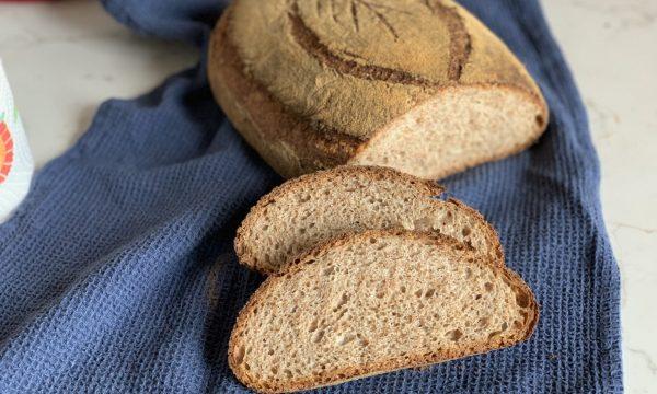 Pane con farina integrale e segale