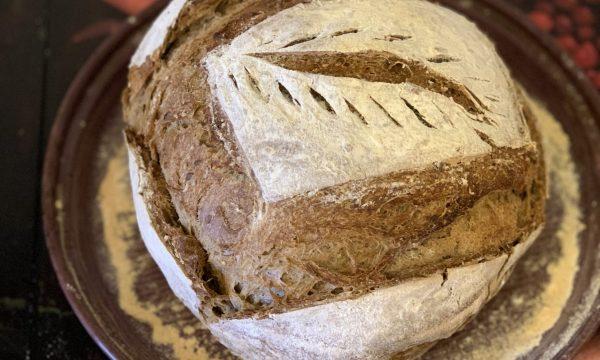 Pane nero ai 7 cereali con esubero