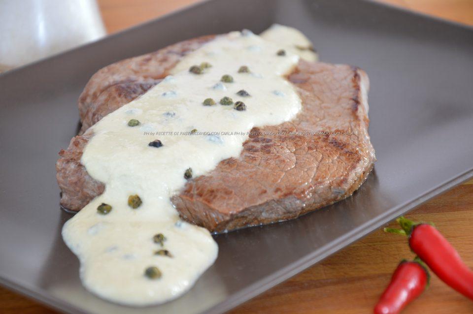 Tagliata al pepe verde light pasticciando con carla for Cucinare tagliata