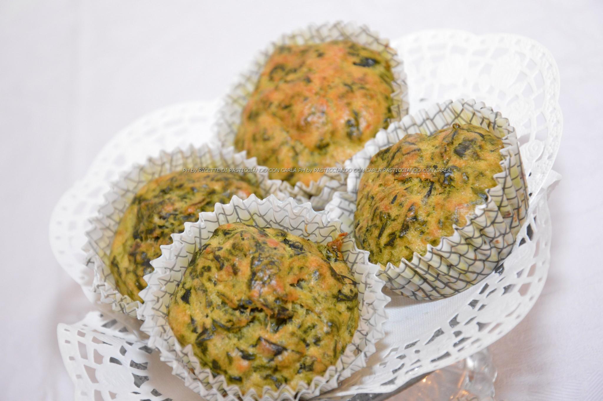 Muffin spinaci e parmigiano