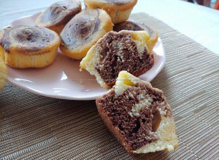 Muffin mascarpone panna e cacao