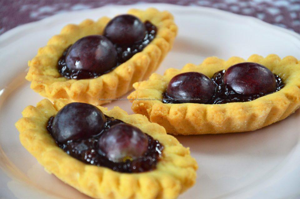 Tartellette alla marmellata di uva