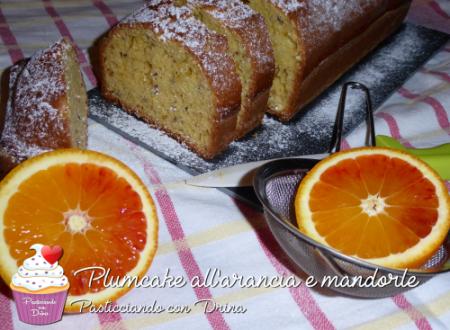Plumcake all'arancia e mandorla