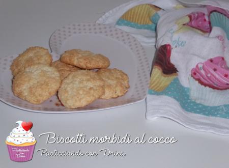 Biscotti morbidi al cocco (solo albumi) GLUTEN FREE