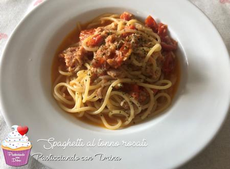 Spaghetti al tonno rosati