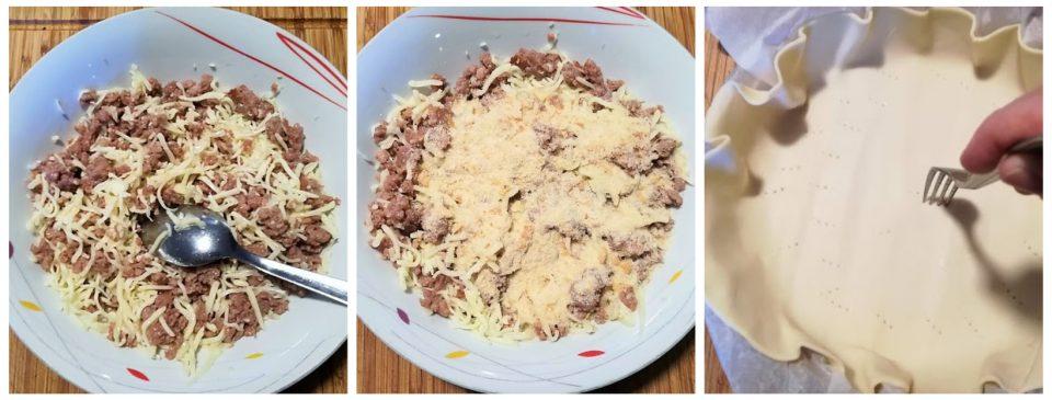 torta salata salsiccia e patate