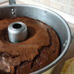 Chiffon cake al cacao e caffè