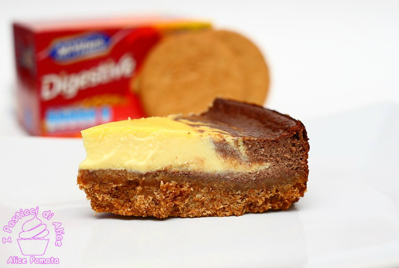 Cheesecaake Bicolore