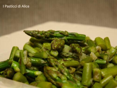 Asparagi e Scalogno