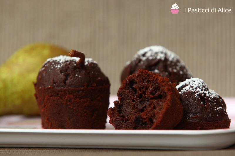 Muffins alla Pera