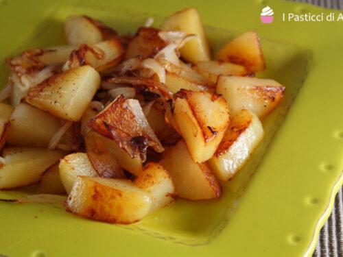 Patate e Cipolle in Padella