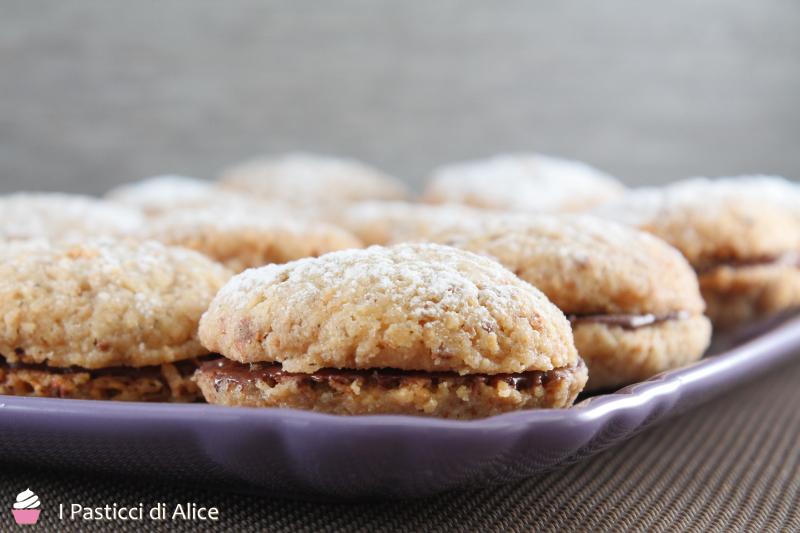 Biscotti Nocciola e Nutella