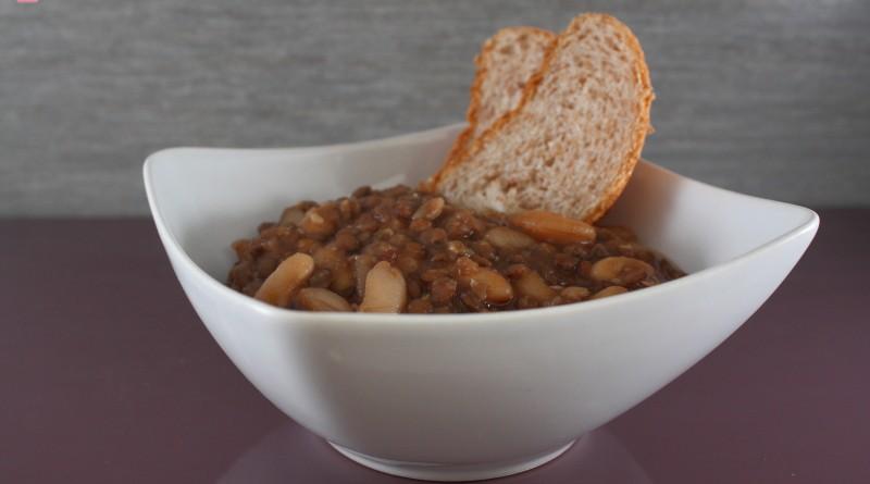 Zuppa Tiepida di Legumi