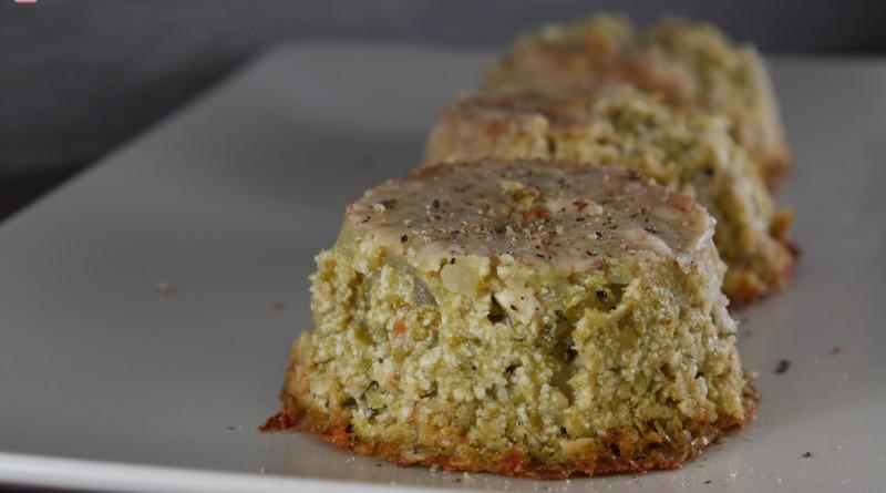 Tortini di Zucchine e Tofu