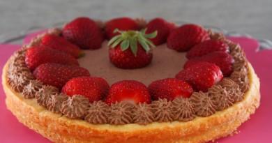 Crostata Cioccolato e Fragole
