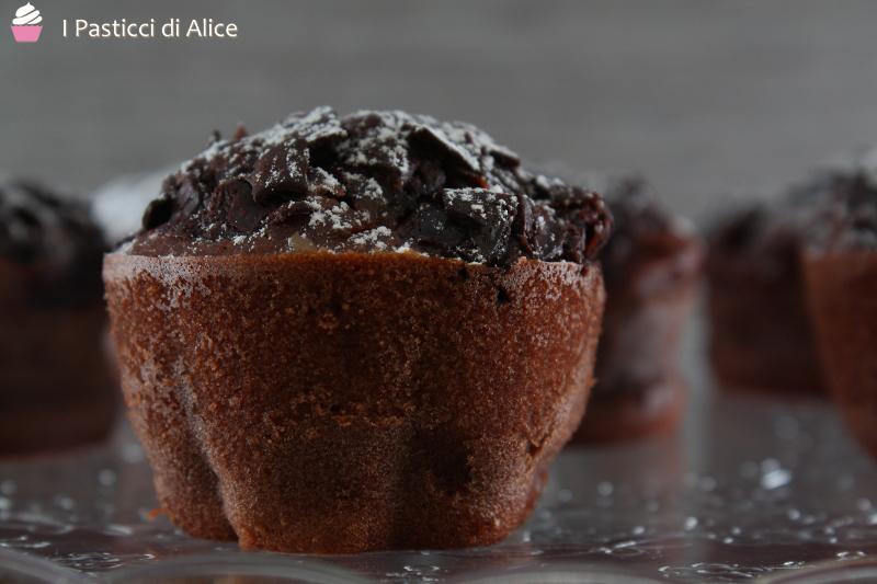 Muffins al Cacao e Banana