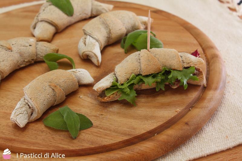 Cornetti Salati di Grano Saraceno