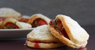 Biscotti alla Ricotta con Fragole