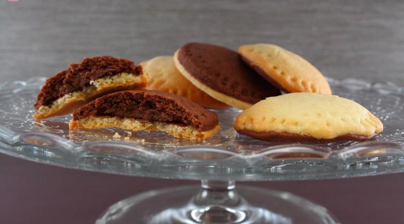 Biscotti Bicolore Ripieni