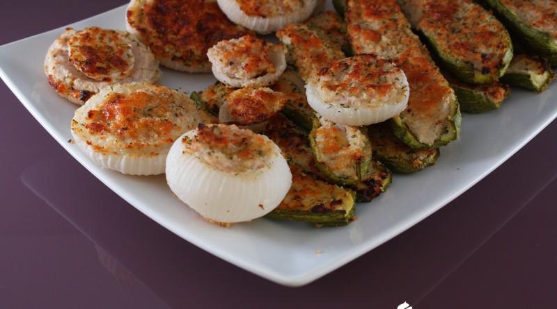 Ripieni di Zucchine e Cipolle