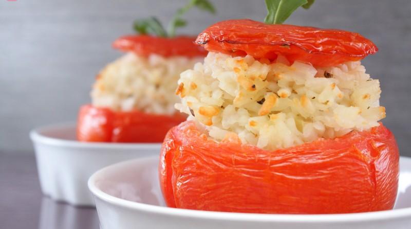 Pomodori Ripieni di Risotto alla Feta