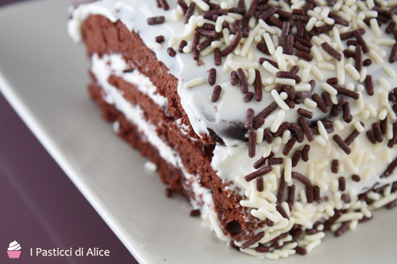 Rotolo Cioccolato Panna e Mascarpone